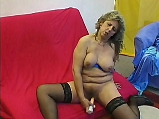 Hot granny Dorothy looked real sexy in her sheer black stockings It seems like this grandma was eager to get it on and so she sucked her lovers dick right away before getting on top of him so she could ride him hard and make him blow his load on her muff