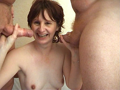 Hot Granny three some
